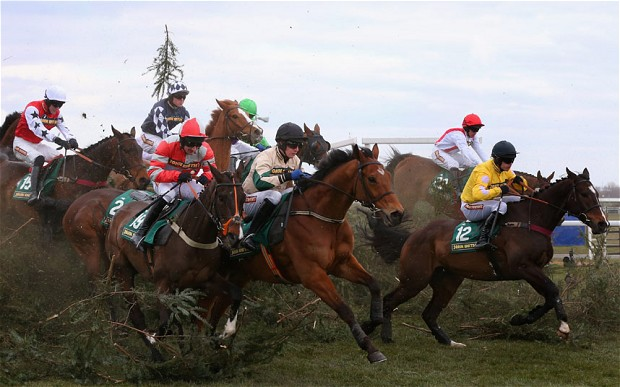 dostihy grand nationas steeplechase