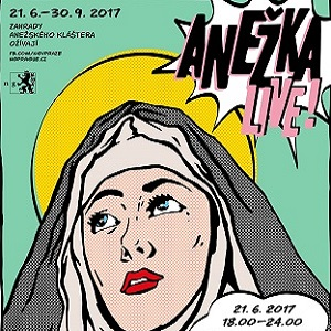 Zahrady Anežského kláštera ožijí programem Anežka LIVE!