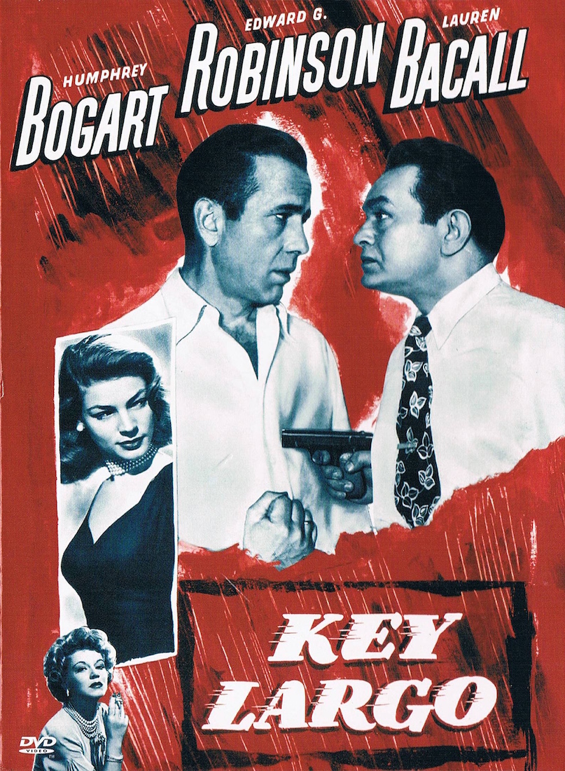 KEY LARGO poster dvdcover (c) Warner Bros