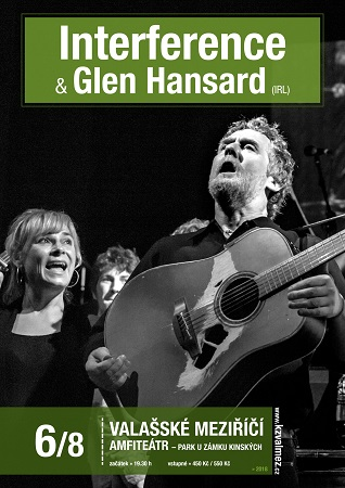Interference+Glen Hansard plakat
